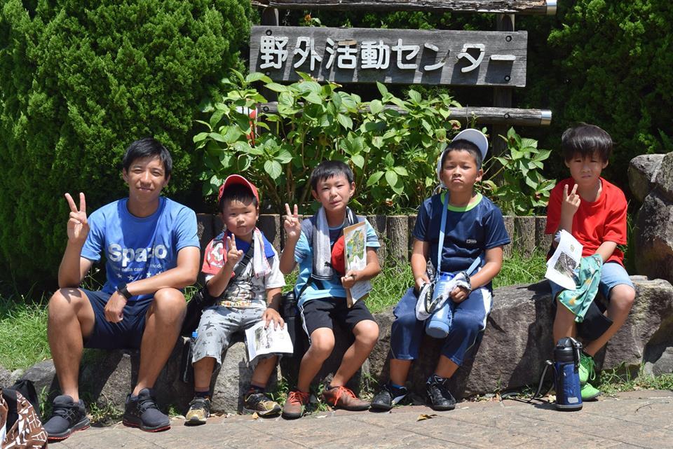 38635933 1816531878426410 6337829487744385024 n - 【サマーキャンプ】8月2日(木)・3日(金)と生駒山麓公園にて、サマーキャンプを開催しました。