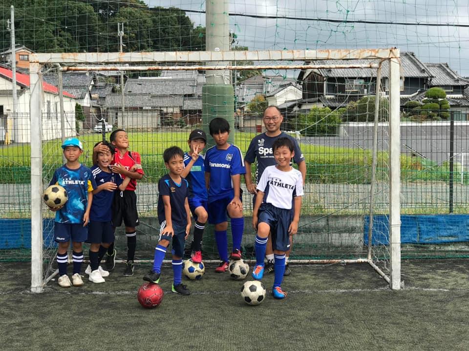 70859706 2443437639069161 6512202376823177216 n - 縁あって三和鎌田スポーツ少年団サッカー部の小学4年生のお友達に指導させていただきました。