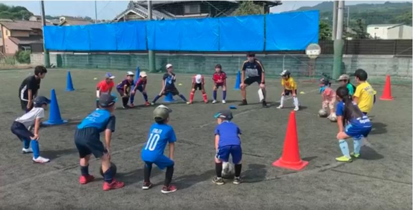 2020 08 12 15.40.43 - サマースクールが開始! みんな元気良くボールを追いかけていました!