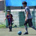 118554027 3254287574650826 7398197487075256401 o 120x120 - ストレスの無いしなやかなボール扱いができるようにトレーニングしました!