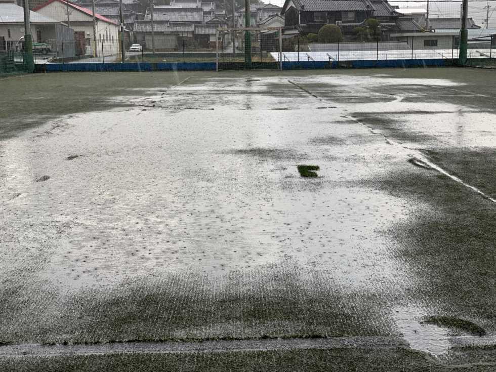 雨天中止:2月15日(月) フットサルスクール U-10クラス